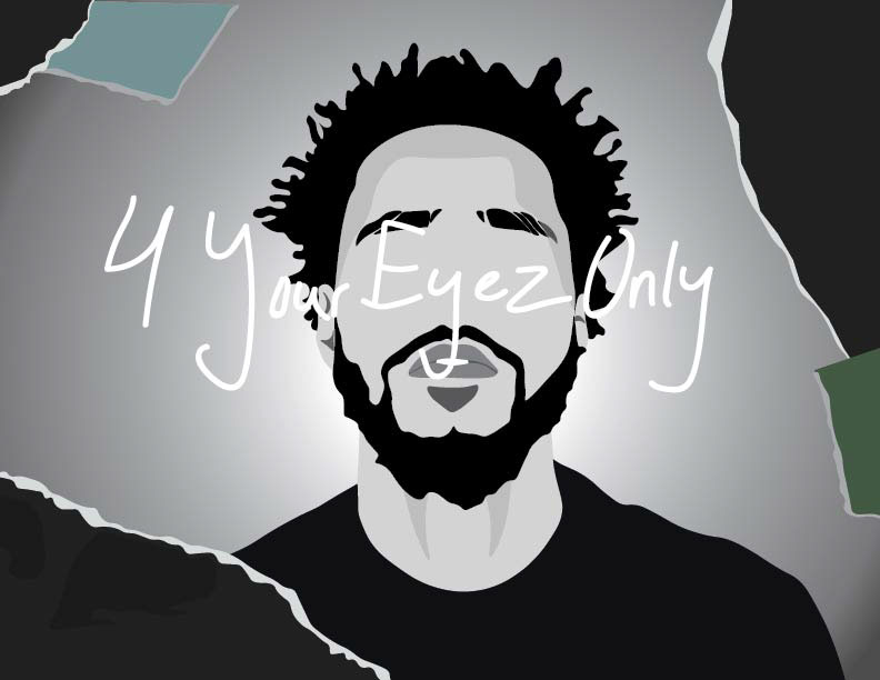 J Cole 4 Your Eyez Only On Behance