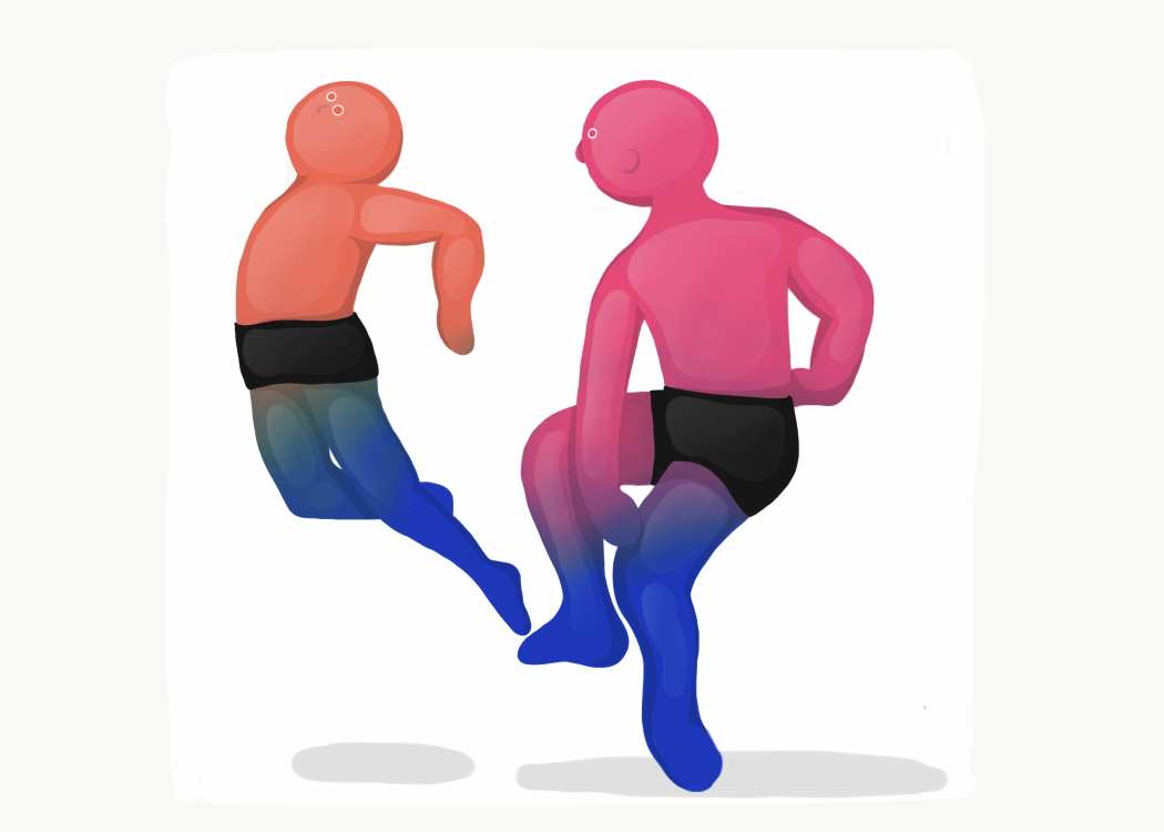 DANCE   dancer ILLUSTRATION  graphic Digital Drawing gradient Drawing  adobe sketch Character