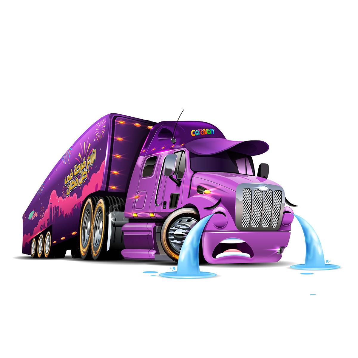 Image may contain: cartoon, vehicle and land vehicle