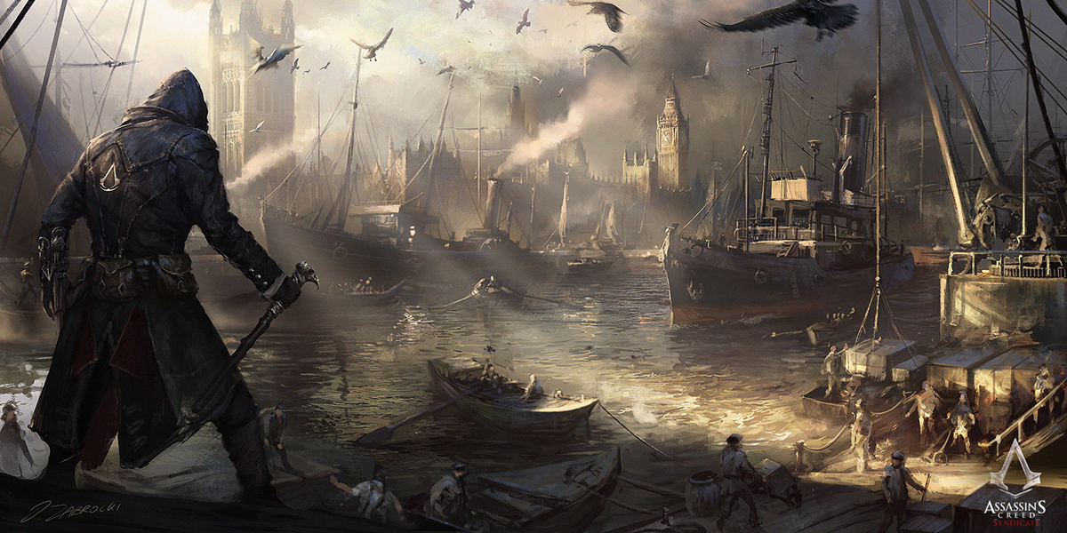 Assassin S Creed Syndicate Concept Art On Behance
