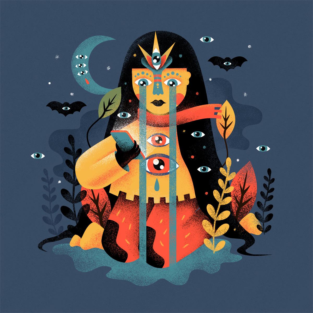 Halloween Leyendas monsters Guatemala texturas animacion characterdesing tigo textures brushes