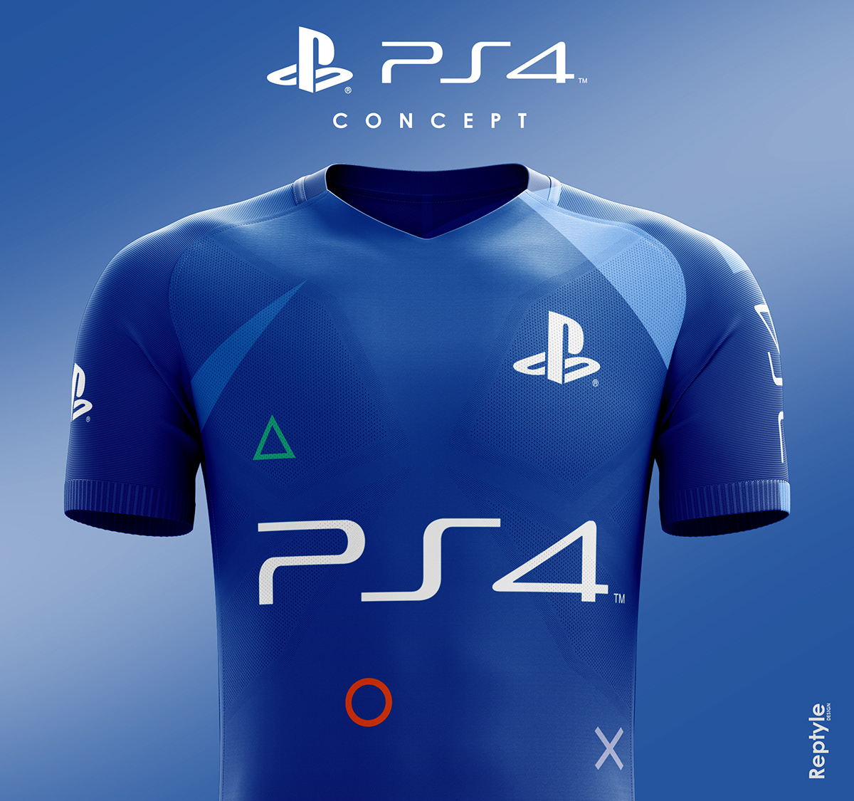 Playstation 4 soccer kit concept on Behance d8323f5fd