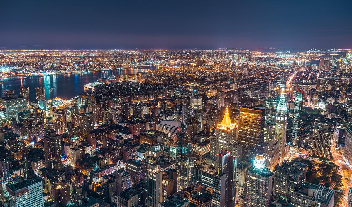 nyc New York towers skyline
