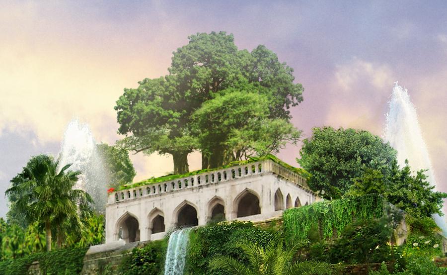The Hanging Gardens of Babylon on Behance