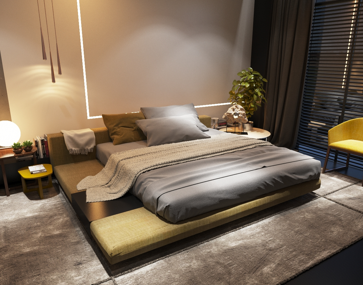 Odessa apartment 9j on behance for Apartment 9 furniture