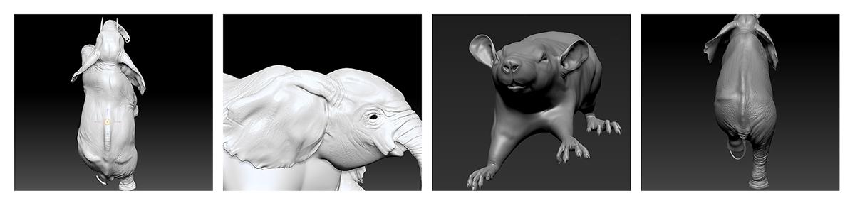 mercedes Active lane keeping assist automotive   barakat CGI elephant rat FOX chicken sheep dog Shepherd