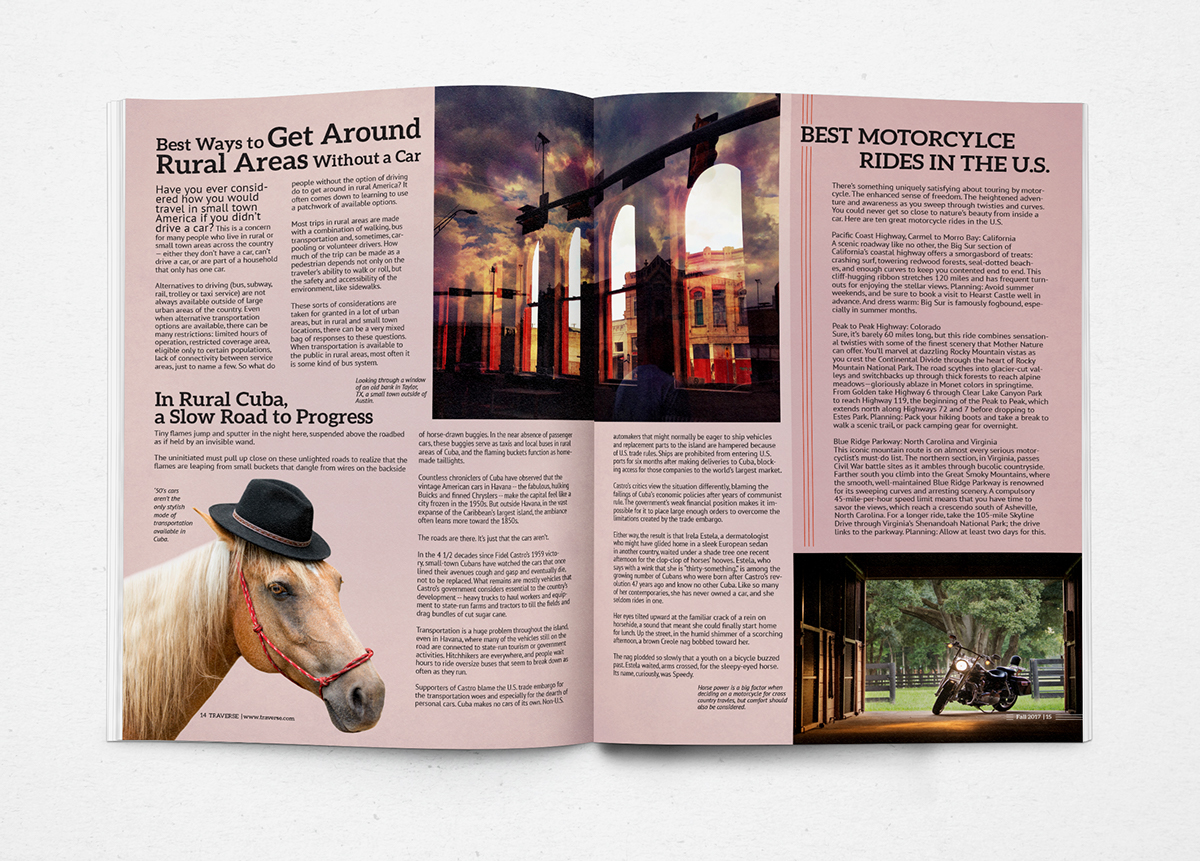 Newsletter Design | Traverse on Behance