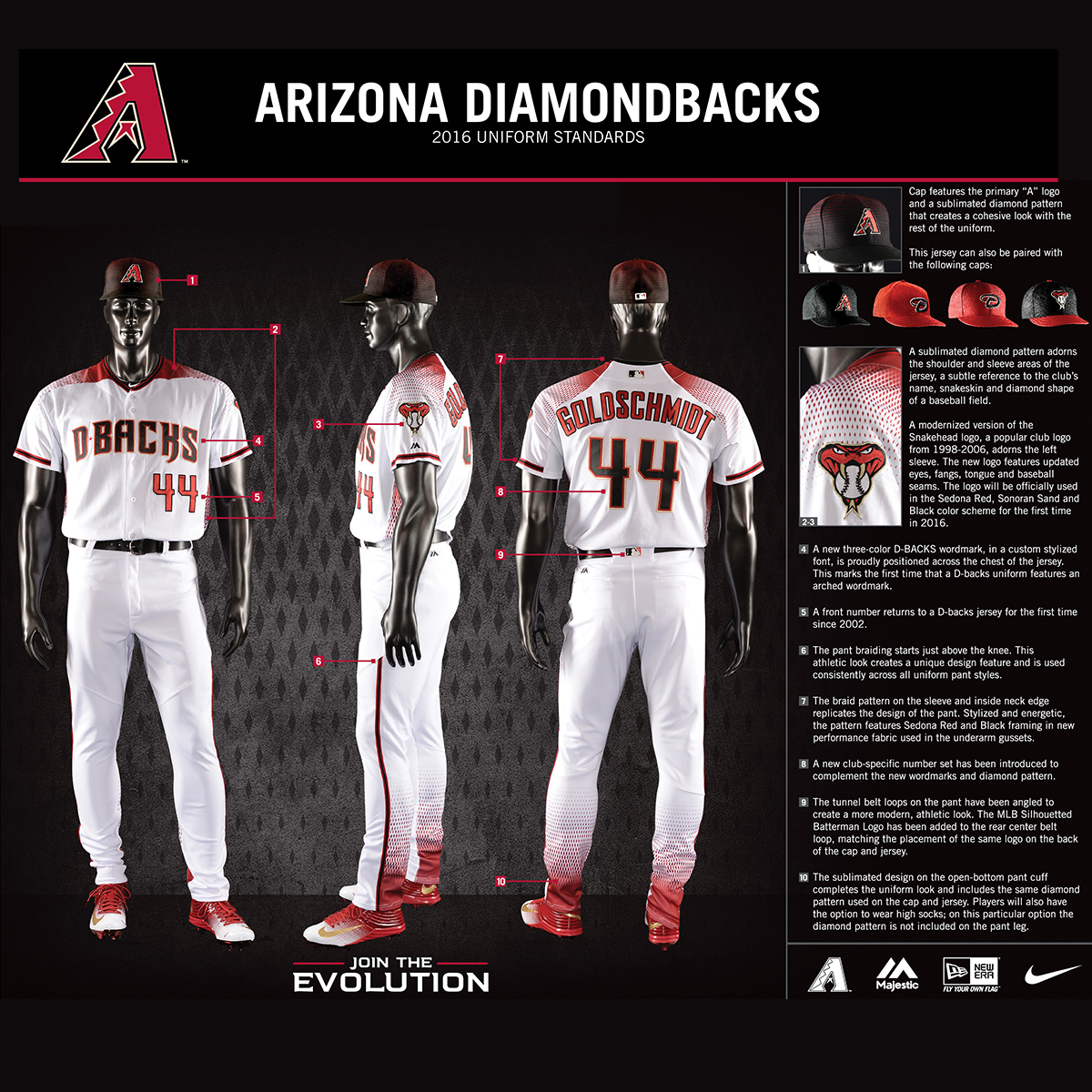 diamondbacks uniform colors