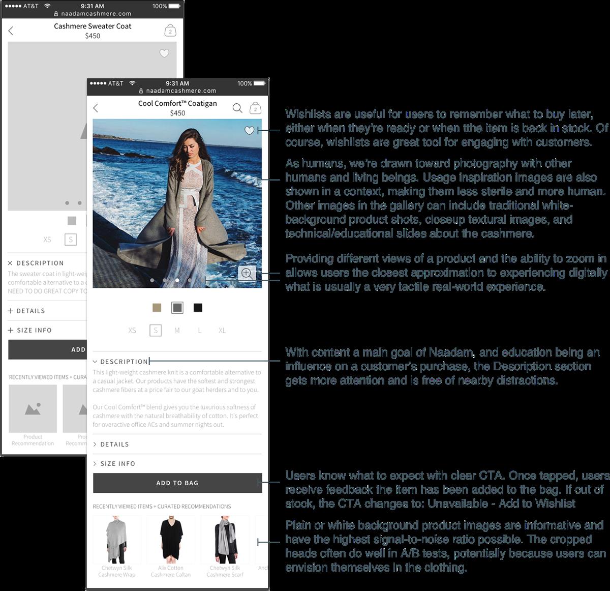 Ecommerce Startup ux/ui persona Fashion  New York branding  wireframes environment