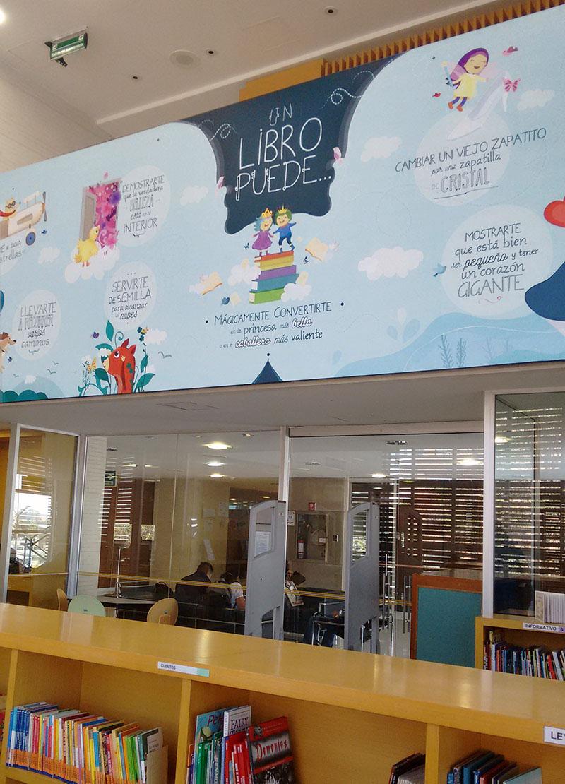 ilustracion ILLUSTRATION  Character kids wall Mural personaje infantil biblioteca library