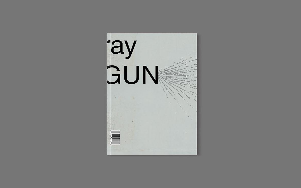 collage graphic design  print MICA juxtapose branding  motion graphic gif magazine ray gun