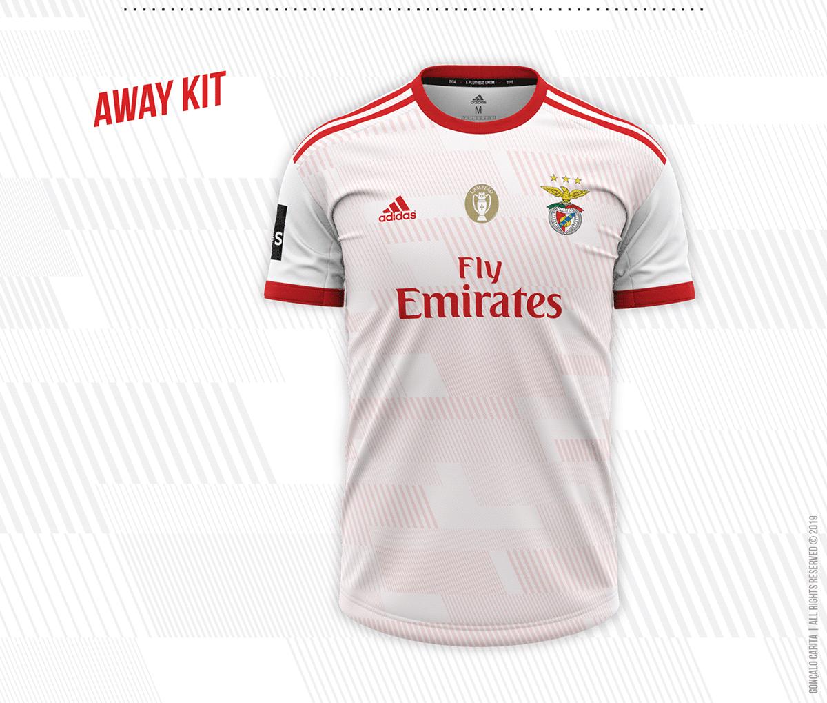 the best attitude 9d571 e6868 Sport Lisboa e Benfica | Concept Kits 2019/2020 Season on ...