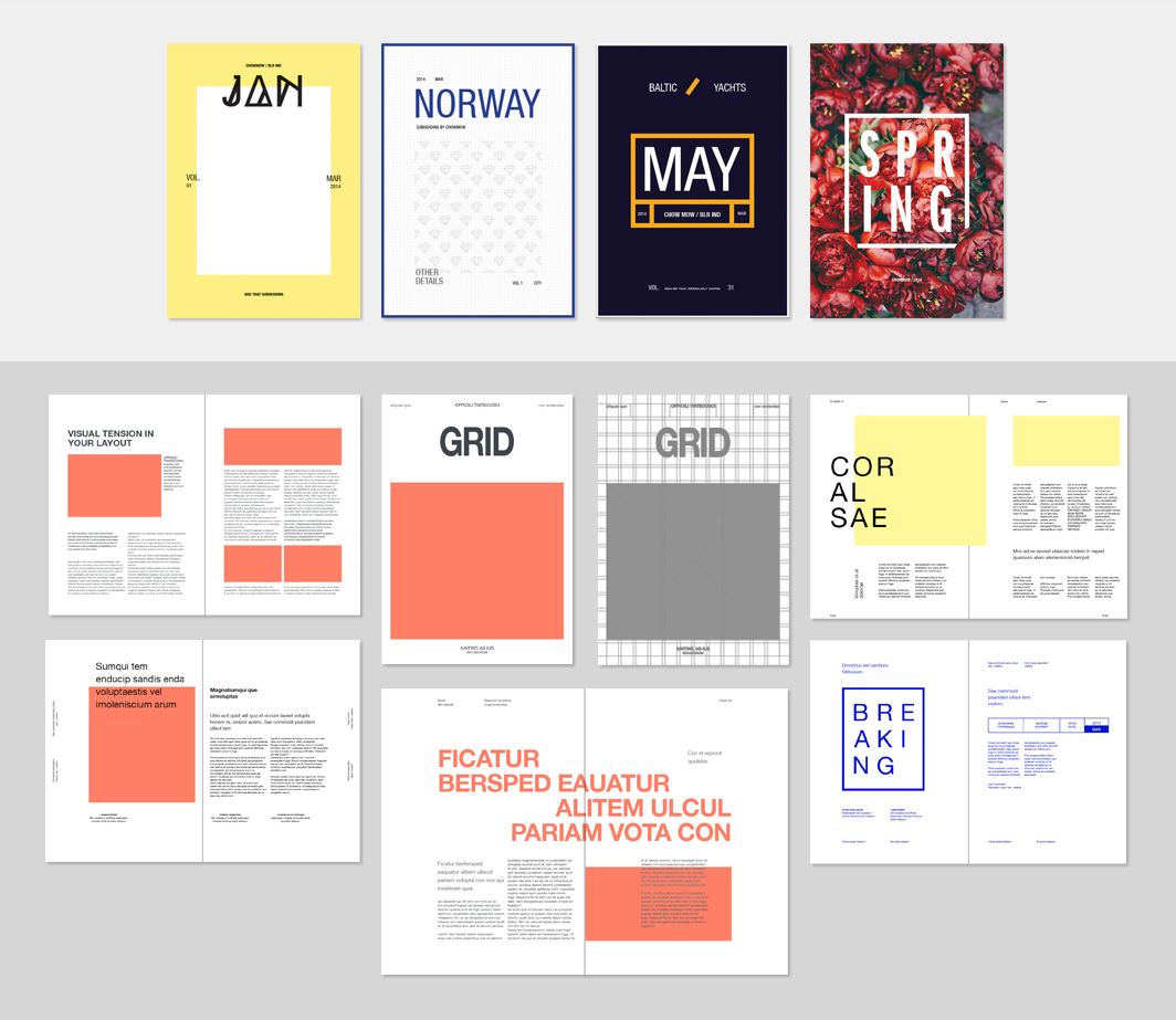 Free Editorial Layouts [InDesign] on Behance - photo#25