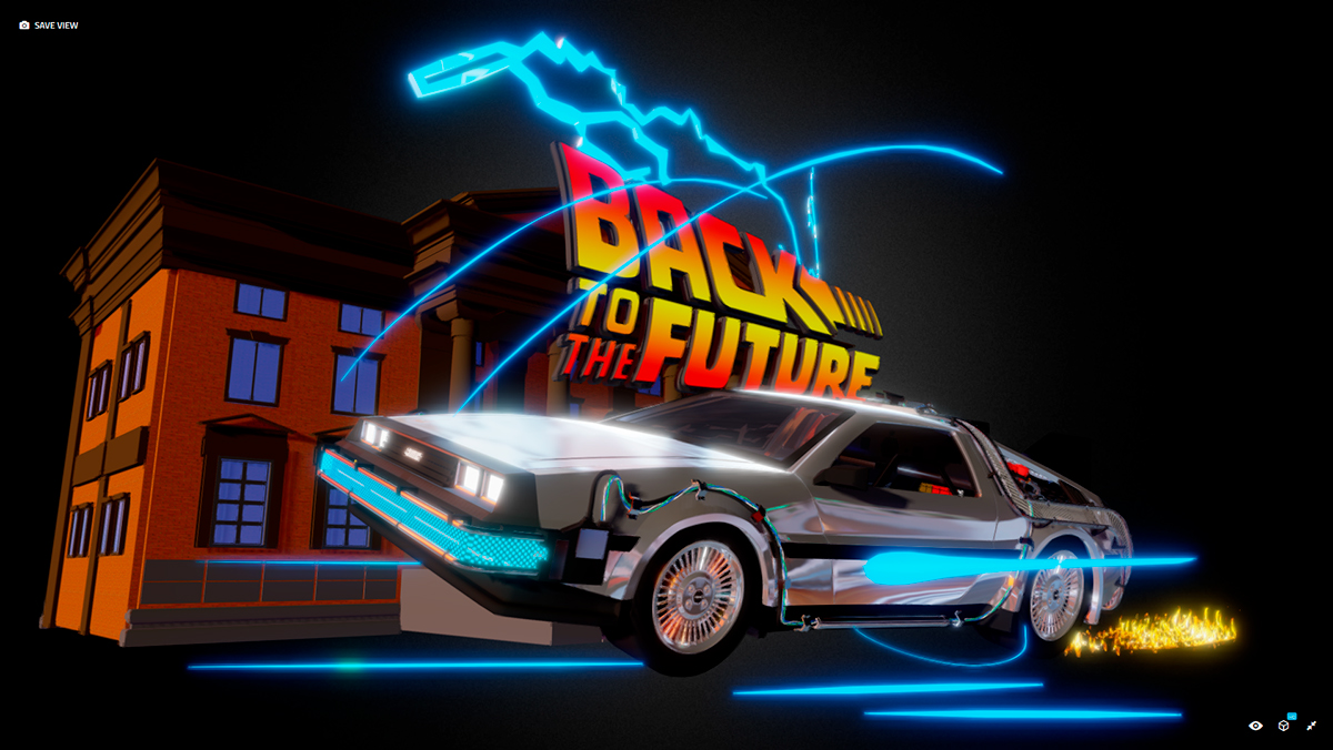 Back To The Future - Fan Art Tribute on AIGA Member Gallery
