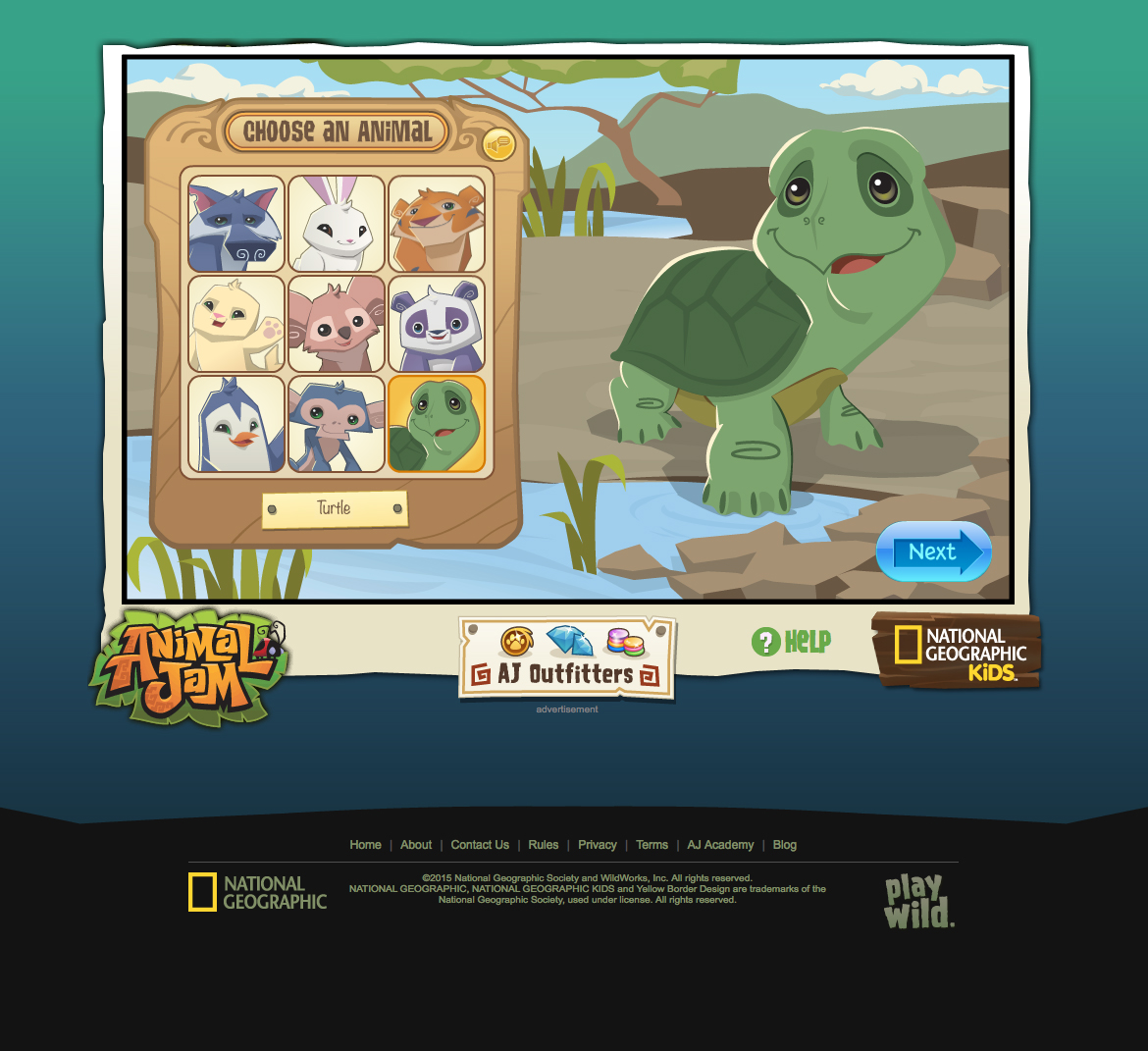 Animal Jam Turtle Illustration on Behance