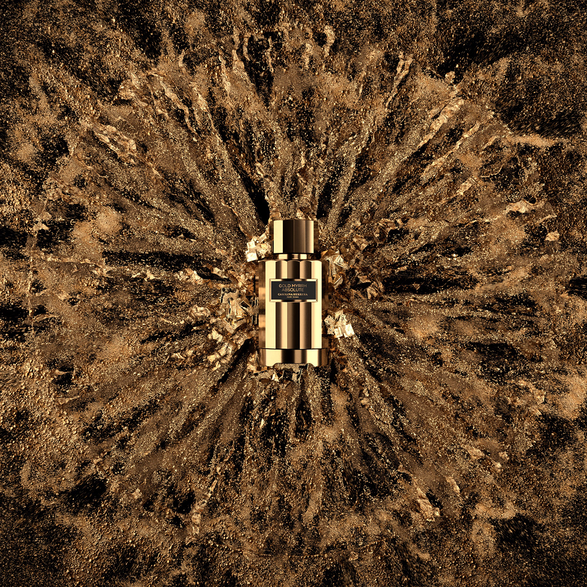 branding  crystals generative gold houdini motion design particles product Pyrite simulation