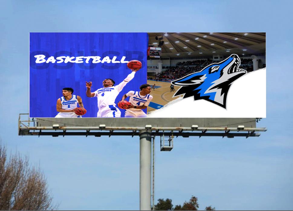 Csusb Basketball advertising on Behance