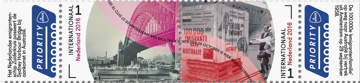Postnl Grenzeloos Nederland Dirck Hartogh Duyfken Nereda ska square kilometre array stamps Philately filatelie