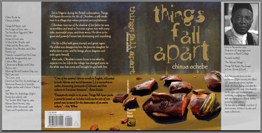 things fall apart by chinua achebe europeans view of africa and slave trade Chinua achebe (shin'wa ach-ab-ba) where things fall apart is set – near town of onitsha the european slave trade.