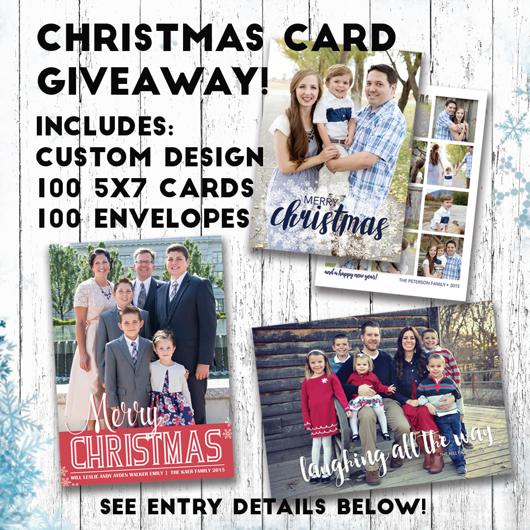 Christmas Card GIVEAWAY! on Behance