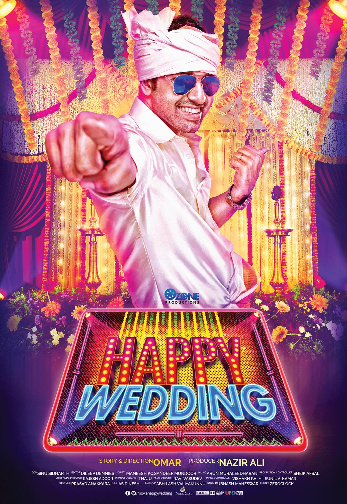Happy Wedding Malayalam Movie Poster On Behance