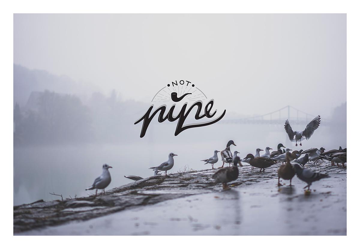 logo typoghraphy clothes brand
