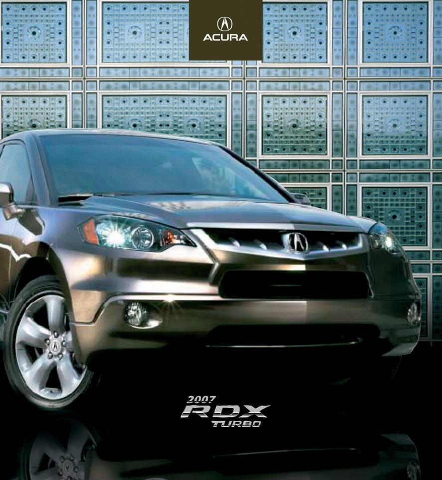 ACURA RDX Brochure On Behance
