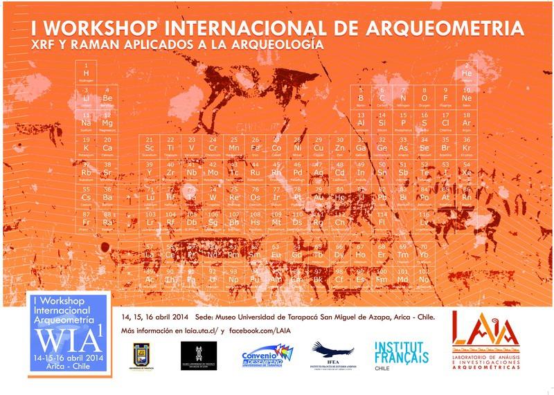 Workshop,arqueometria,XRF,Raman,arqueologia