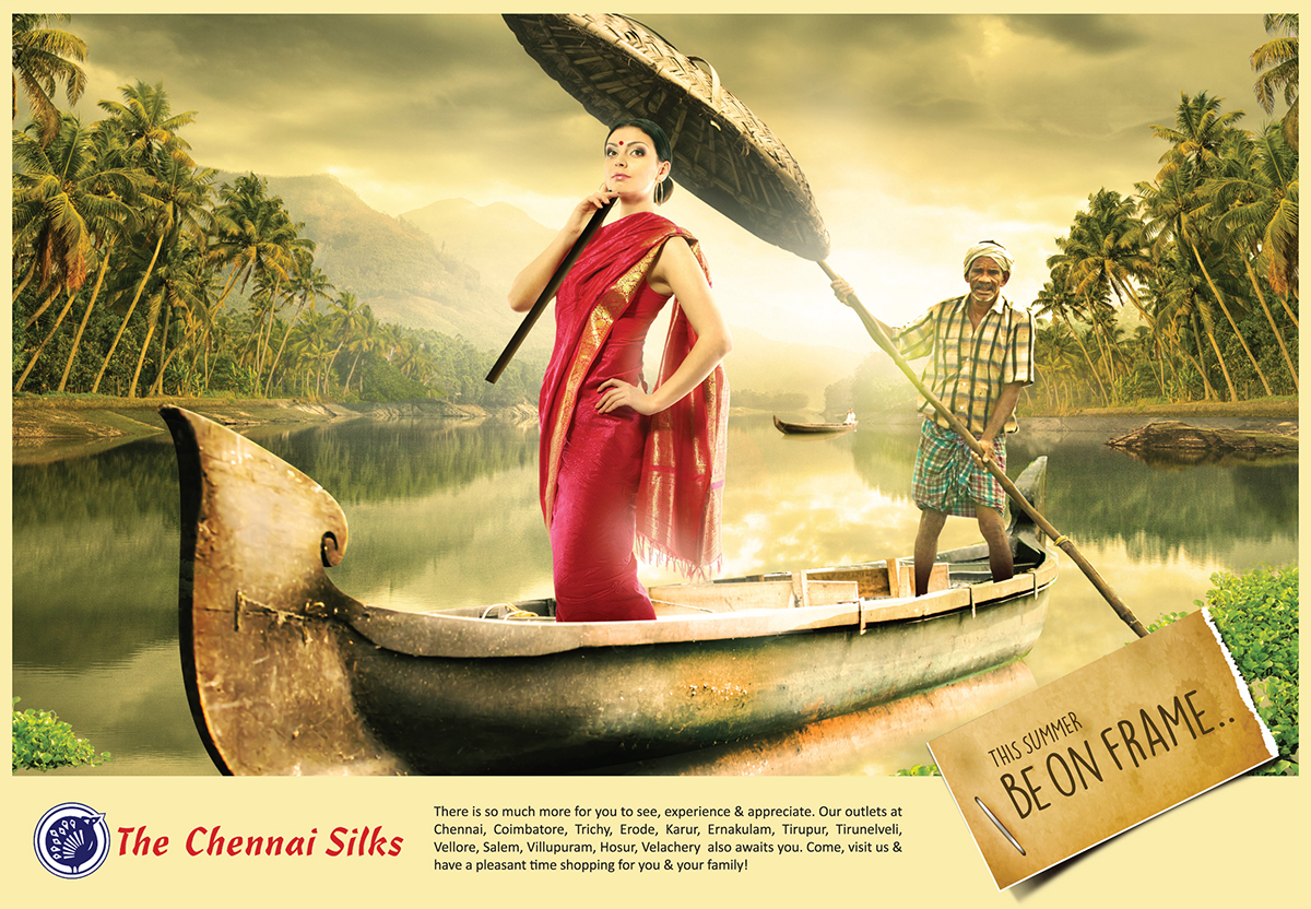 Chennai Silks Kerala Presentation Campaign on Behance