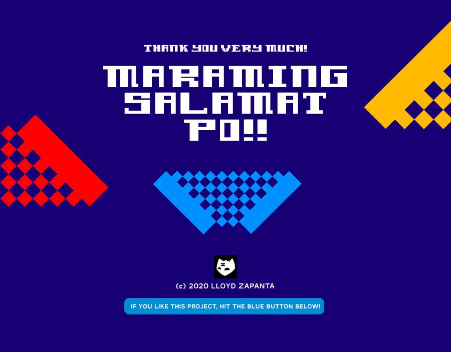 free font Typeface baguio Lloyd Zapanta filipino Pinoy design type download
