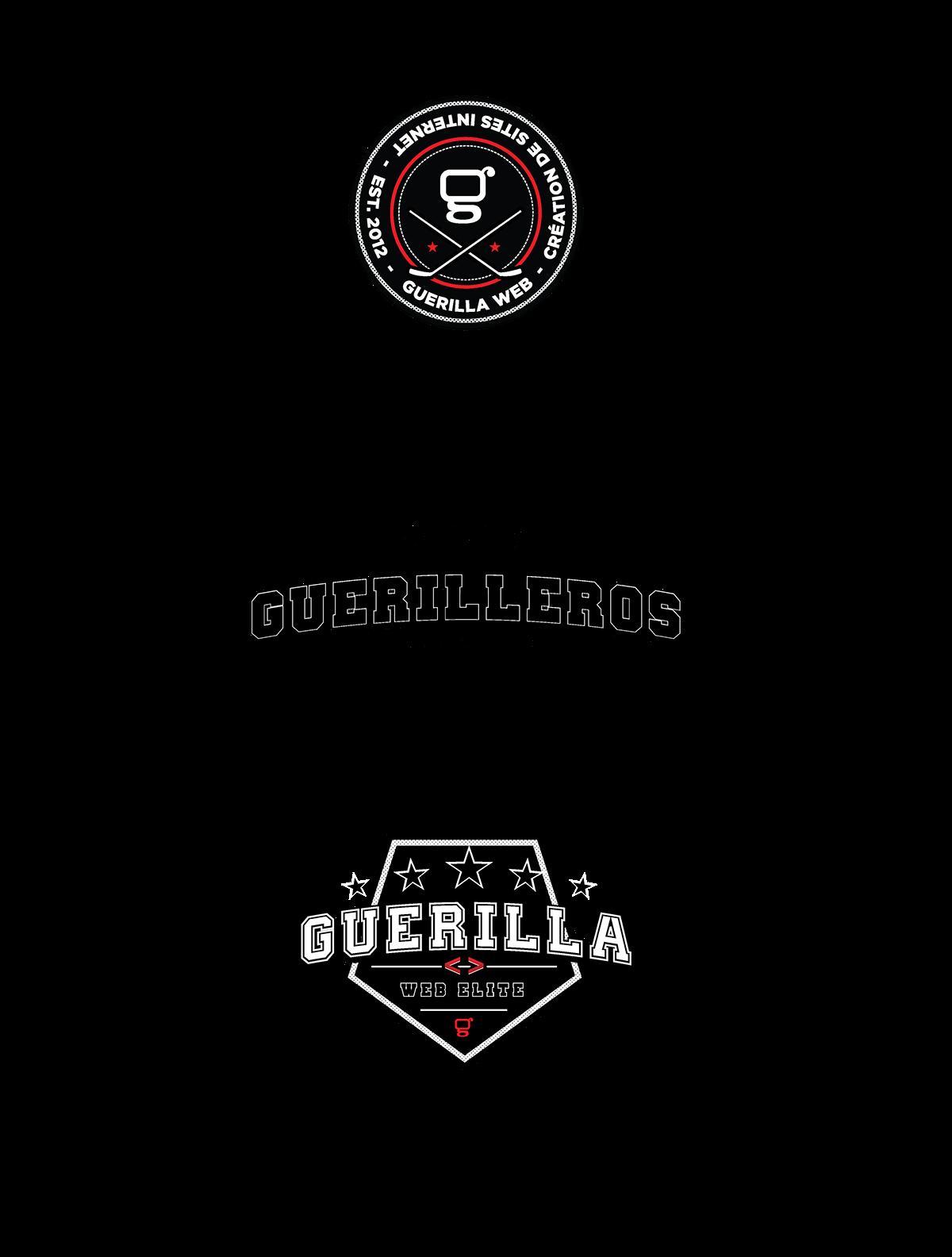 Guerilla Web hockey crest