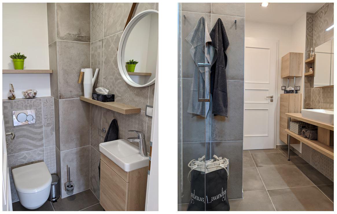 Image may contain: indoor, floor and bathroom
