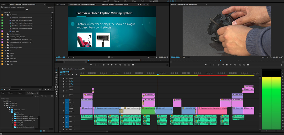 producer director dp camera op video Editor motion graphics  compositing Audio Mastering Gaffer