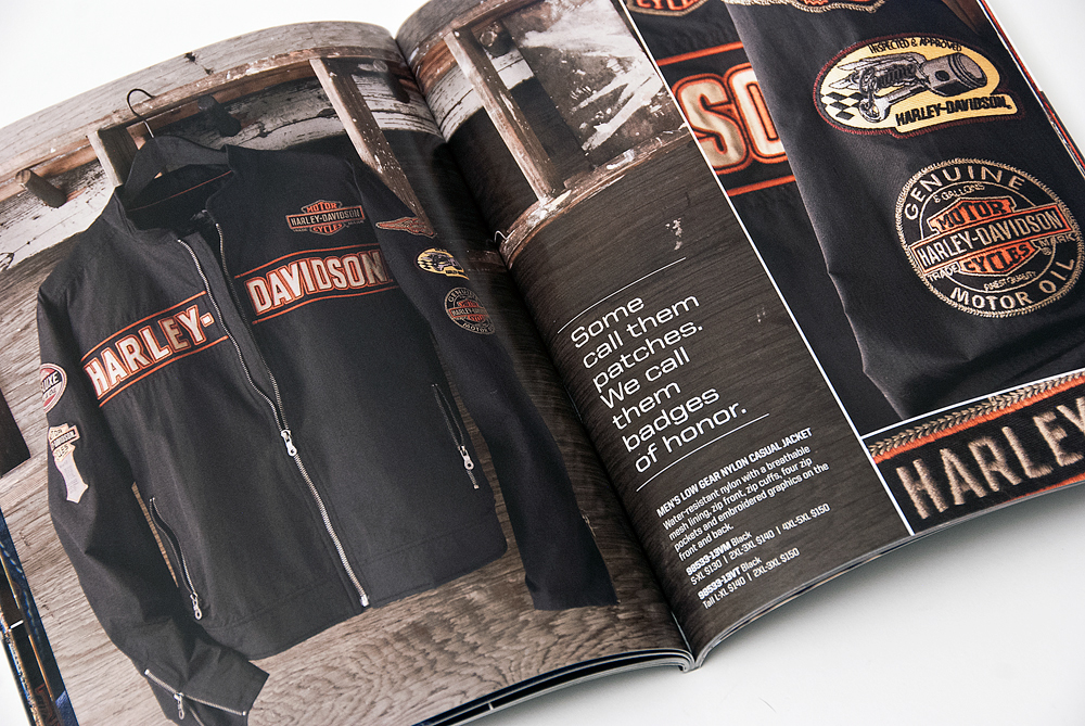 bill mann harley davidson motorclothes product catalogs. Black Bedroom Furniture Sets. Home Design Ideas
