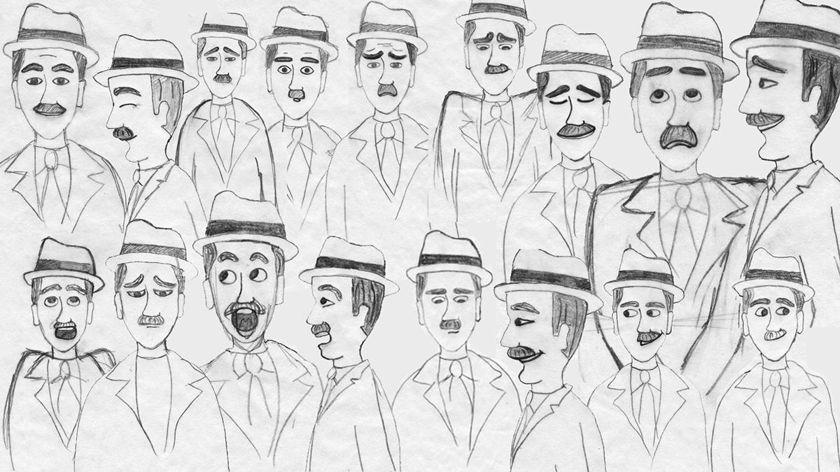 Athens 50s animation film greece