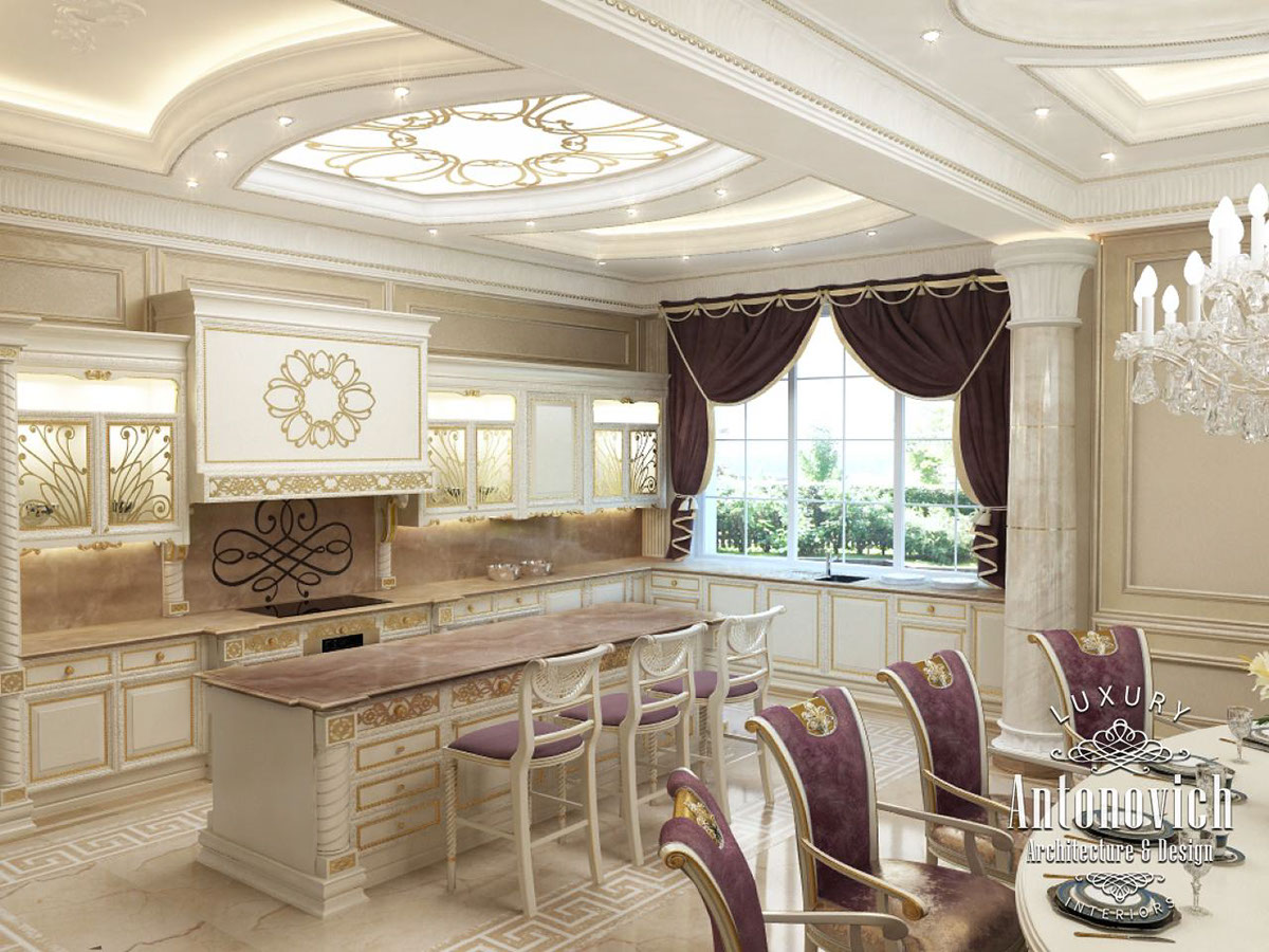 kitchens and interiors kitchen dubai from luxury antonovich design on behance 9281