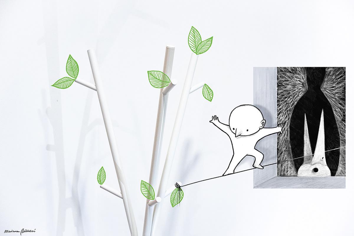 Image may contain: wall, drawing and cartoon
