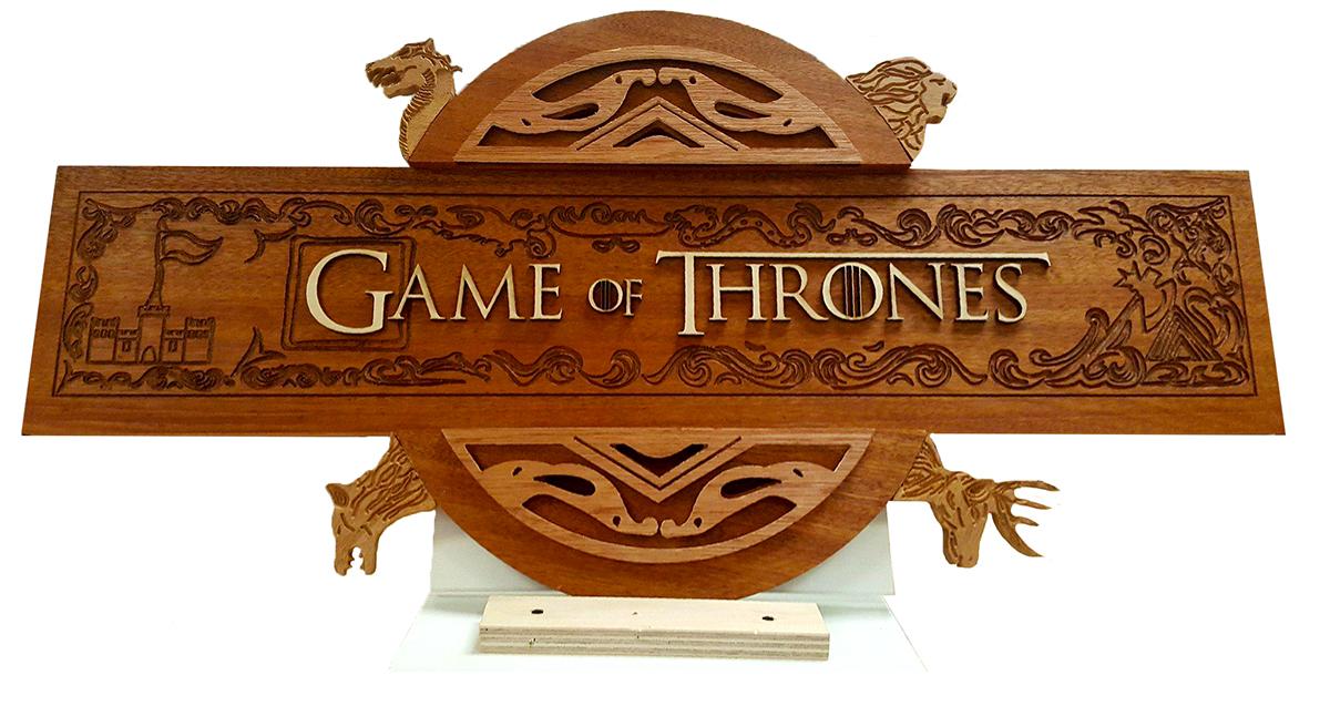Game of Thrones: Logo Design on Behance