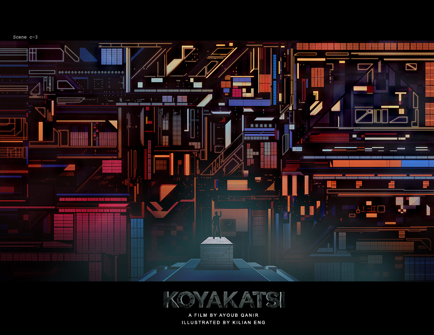 Koyakatsi  Ayoub Qanir Kilian Eng Film   concept illustrations comic grapich novel