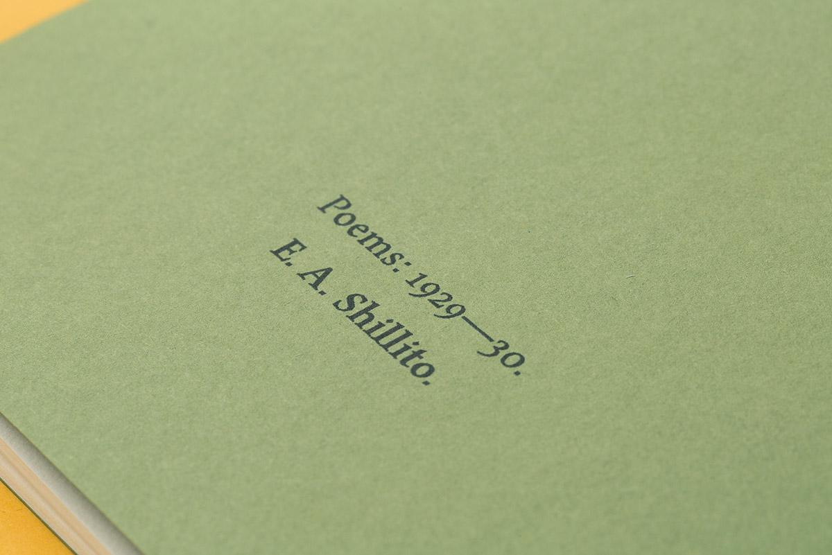Adobe Portfolio Poetry  typesetting