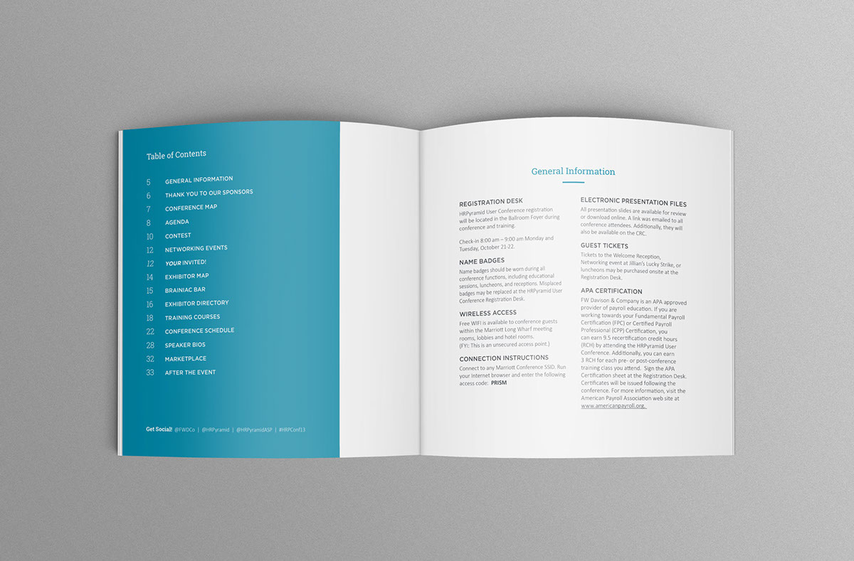 Marketing collateral brand development on behance conference display xflitez Choice Image