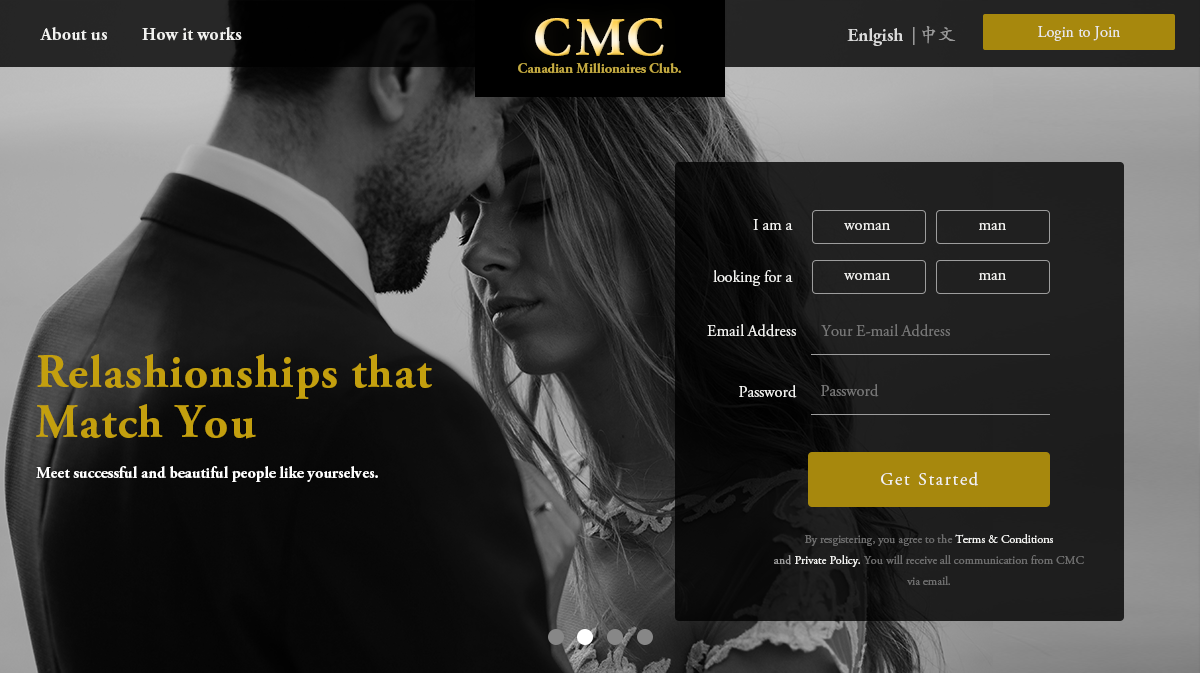dating website millionaires