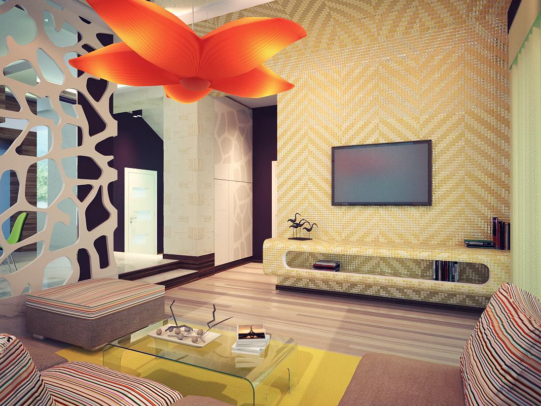 Tropical living room design Interior