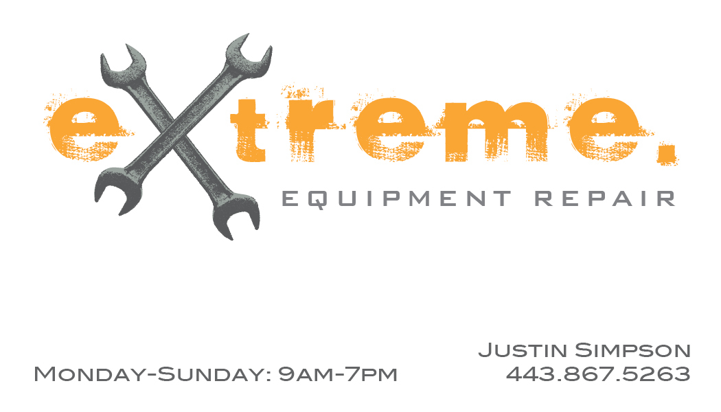 Jessica Fleming aka Inspired Pear - Extreme Equipment Repair Logo ...