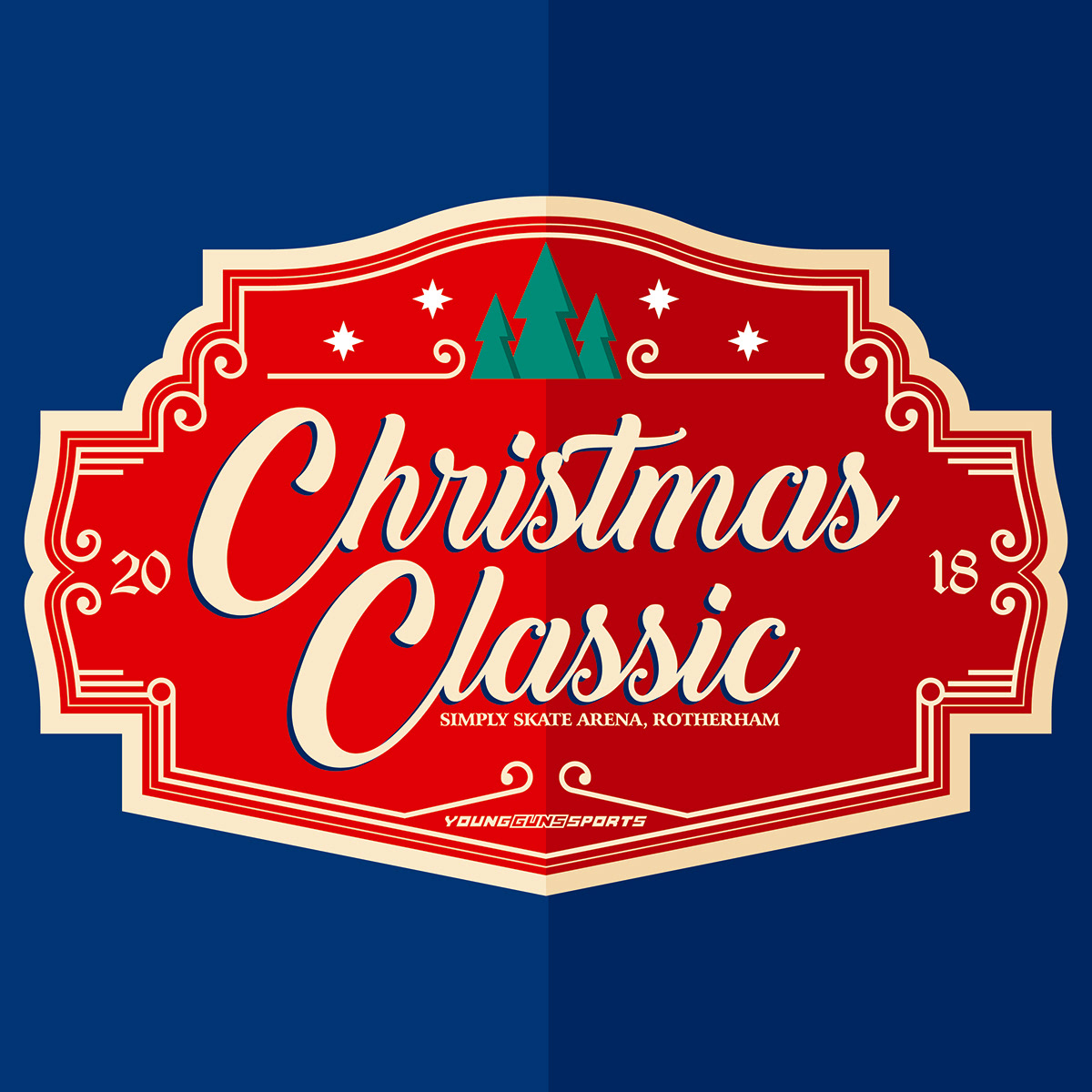 Christmas Classic On Behance