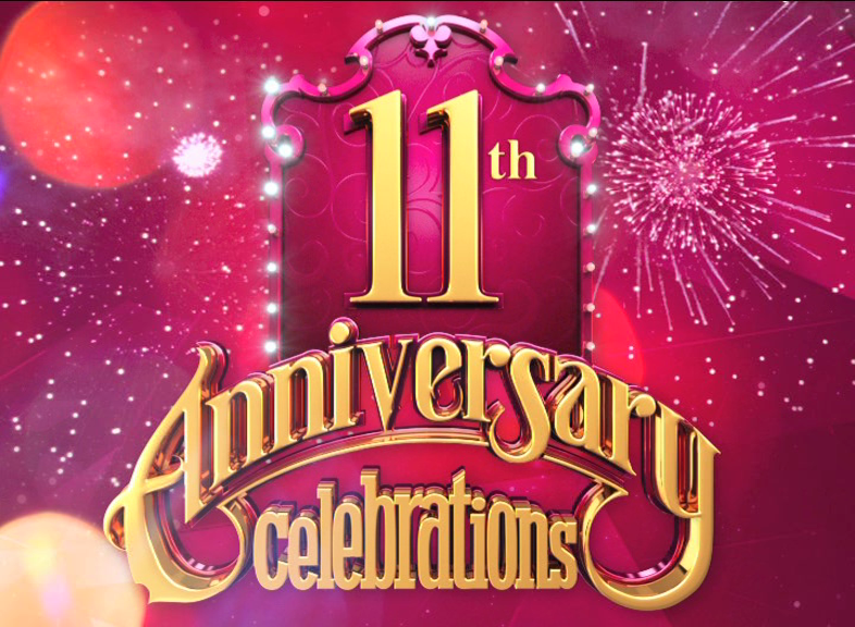 hum tv 11th anniversary on behance