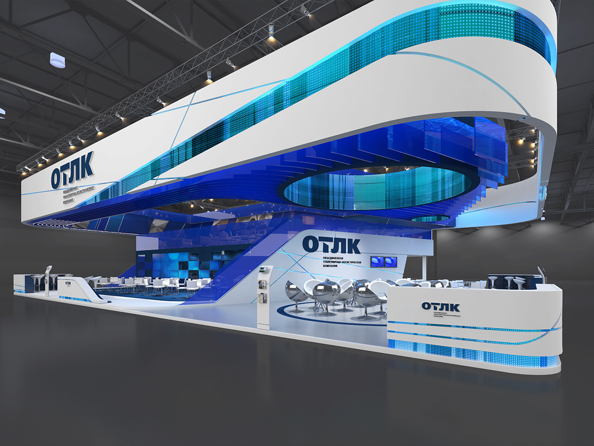 Exhibition Stand Logistics : United transport and logistics company on behance
