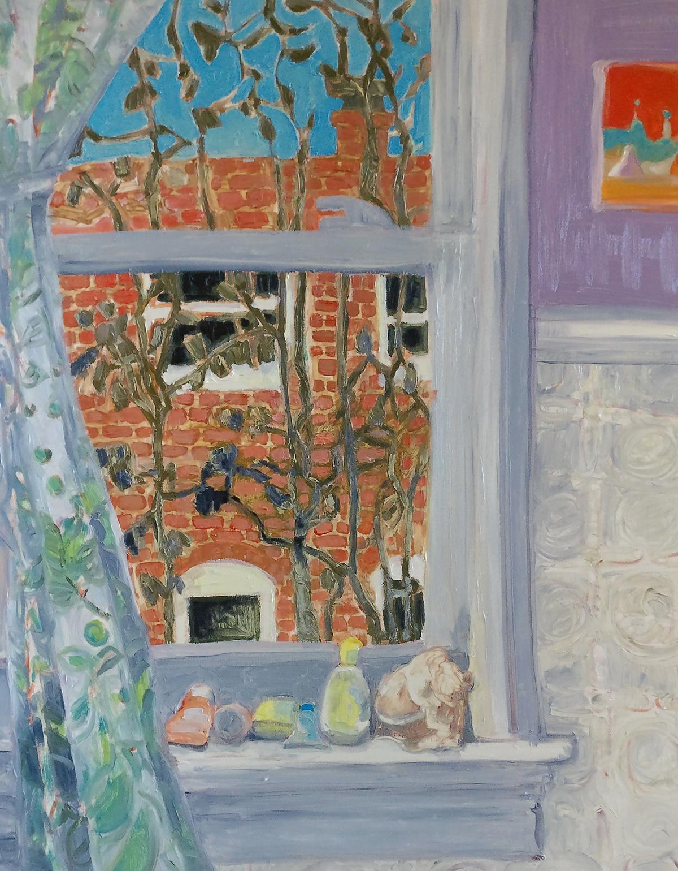 impressionism Oil Painting Interior botanical