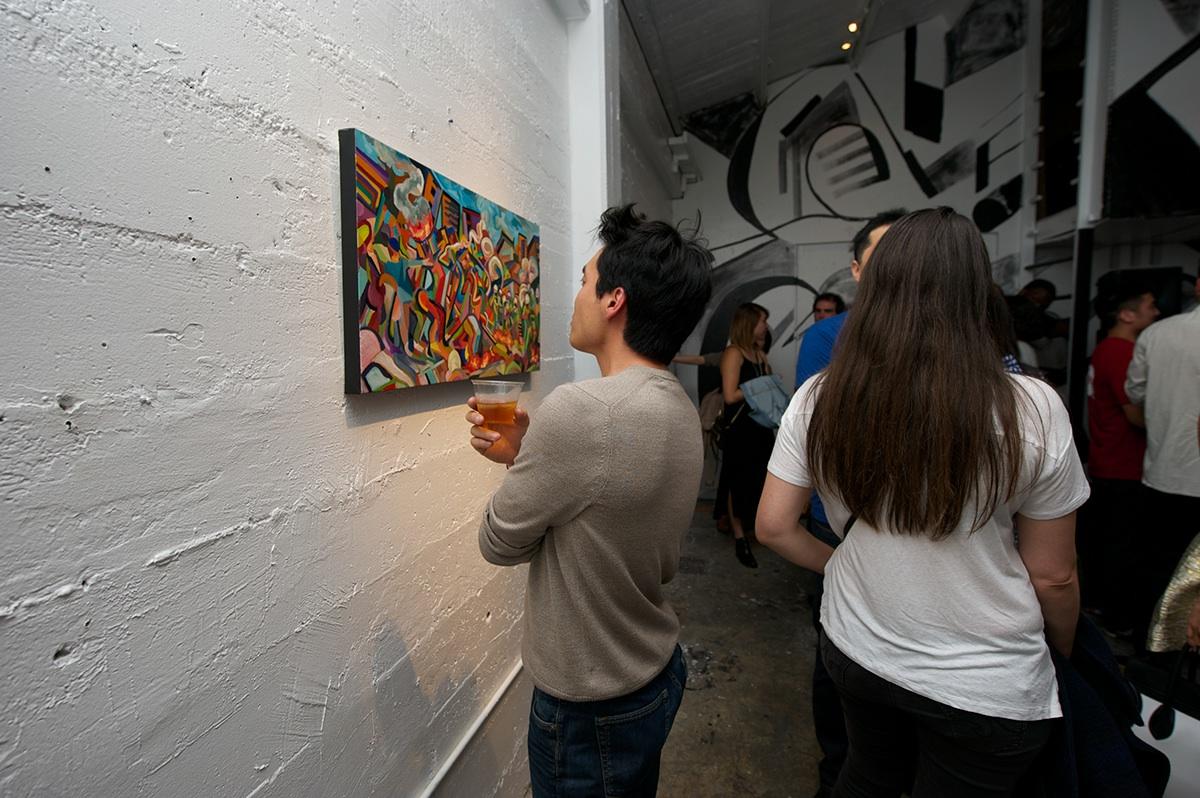 riot,rioters,risd,oil,acrylic,installation,san francisco,SF,harrison love,hlove