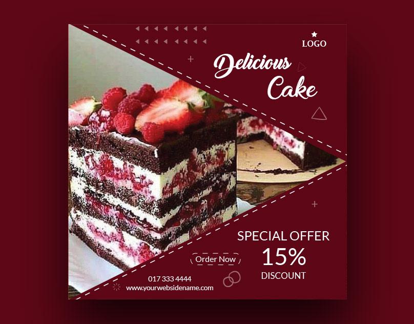 Image may contain: dessert, birthday cake and cake